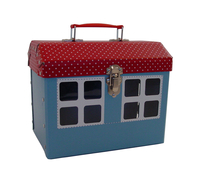 Image Cottage Case, Blue/Red