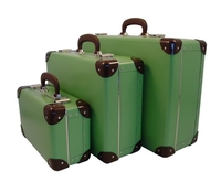 Image Traveler Suitcases, 3 set, Soft Green