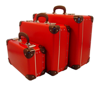 Image Traveler Suitcases, 3 set, Red