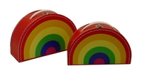 Image Rainbow Case, 2-Set, Multicolor