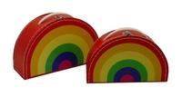 Image Rainbow Case, 2-Set, Multicolor