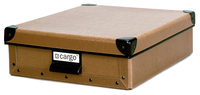 Image cargo® Naturals Stationery Box, Nutmeg