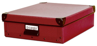 Image cargo® Naturals Stationery Box, Red Spice
