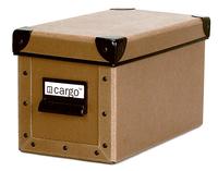 Image cargo® Naturals CD Box, Nutmeg