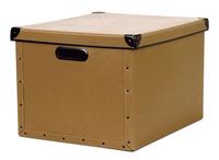 Image cargo® Naturals Dual File Box, Nutmeg