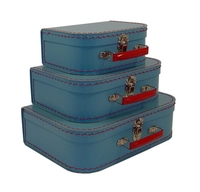 Image Mini Suitcases, 3 set, Soft Blue