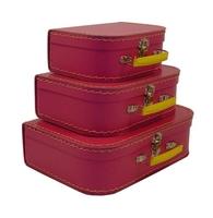 Image Mini Suitcases, 3 set, Pinkberry