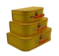 Image Mini Suitcases, 3 set, Yellow