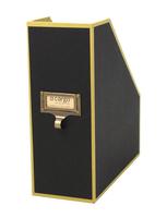 Image cargo® Atheneum Magazine File, Black