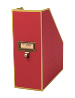 Image cargo® Atheneum Magazine File, Red