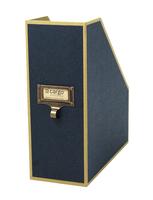 Image cargo® Atheneum Magazine File, Blue