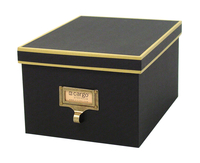 Image cargo® Atheneum Media Box, Black