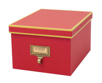 Image cargo® Atheneum Media Box, Red