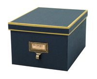 Image cargo® Atheneum Media Box, Blue