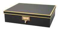 Image cargo® Atheneum Document Box, Black
