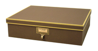 Image cargo® Atheneum Document Box, Brown