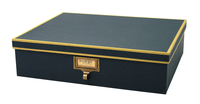 Image cargo® Atheneum Document Box, Blue