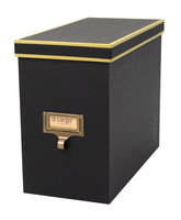 Image cargo® Atheneum File Box, Black