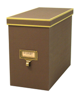 Image cargo® Atheneum File Box, Brown