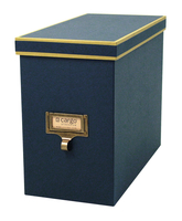 Image cargo® Atheneum File Box, Blue