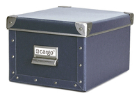 Image cargo® Naturals Media Box, Blue Gray